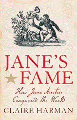 book cover jane's fame