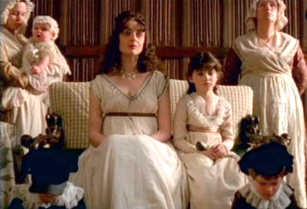 ... had quite a handsome family. We see them in so few movie adaptations.