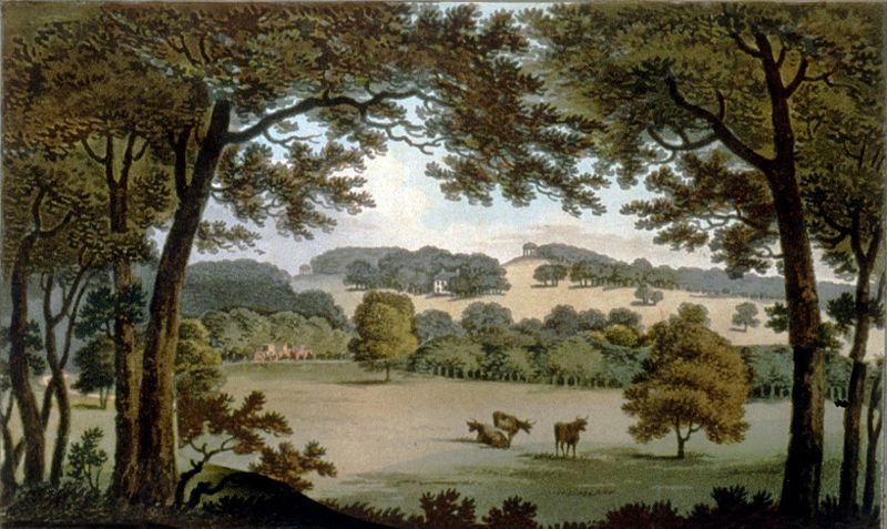 Wentworth Before, Humphry Repton