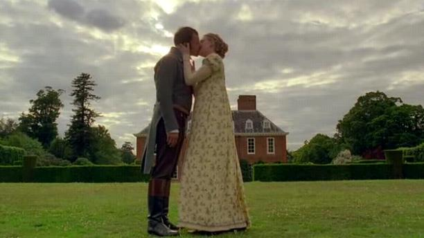 emma and knightley kiss