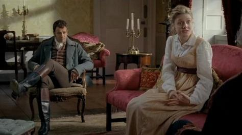 Jonny and Romola in the drawing room of Squerryes Court