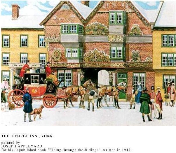 The George Inn York Joseph Appleyard