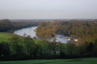 The Thames from Richmond Hill @Tony Grant