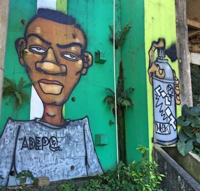 Favela-graffiti