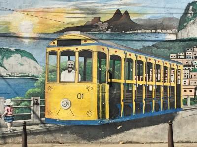 Graffiti i Santa Teresa
