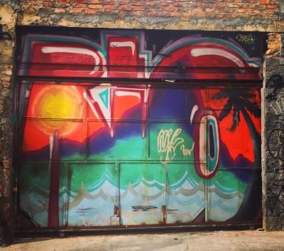 Graffiti i Lapa