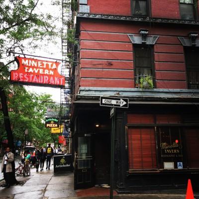 Minetta Tavern, MacDougal Street, Greenwich Village