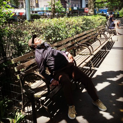 Resting at Union Square