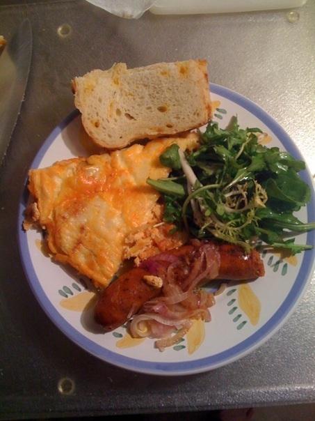 Tom's Paprika-Potato Omlette