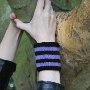 Striped wristbands