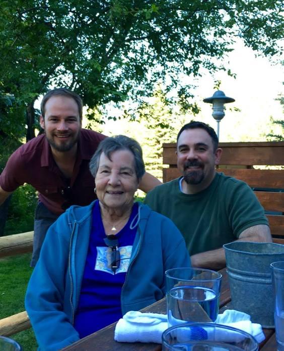 David, Mom, Ryan
