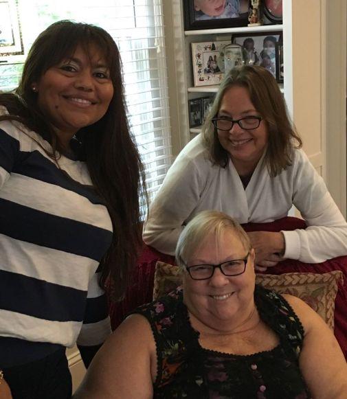 Carmina, Jeanne and me