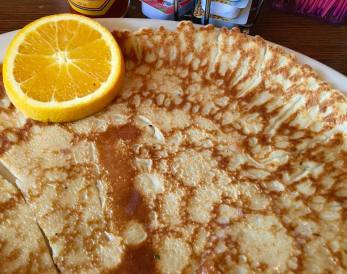 Giant German pancake
