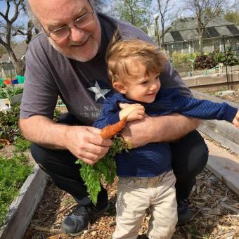 Gardening with Jack