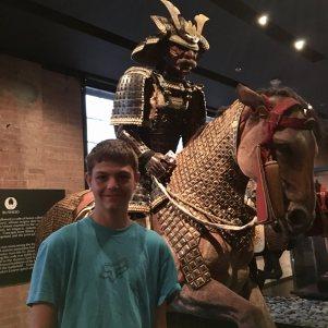 Samurai exhibit
