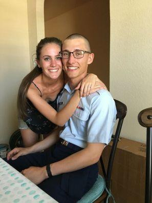 Cousin Aaron and girlfriend Jamie
