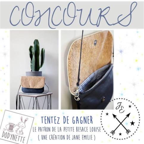 concours couture besace louise