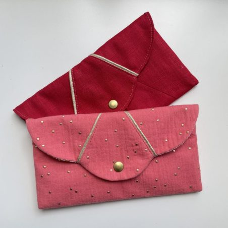 patron couture pochette passepoil
