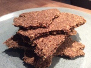 Linseed & Almond crackers