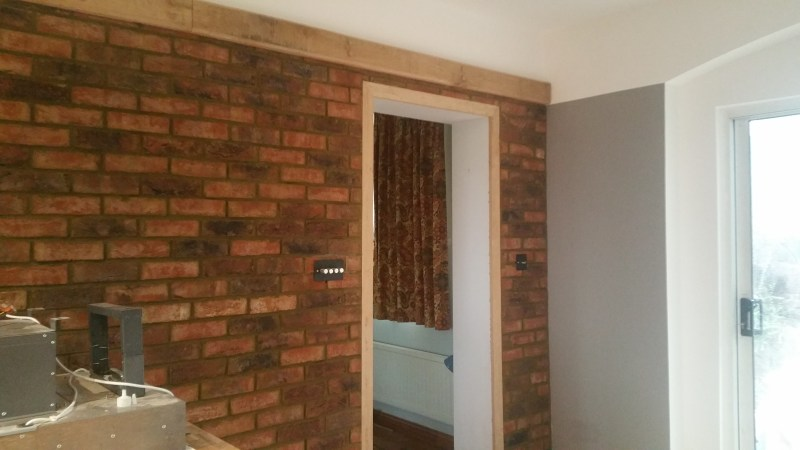 jane fitch interiors brick slips brick wall fake brick wall
