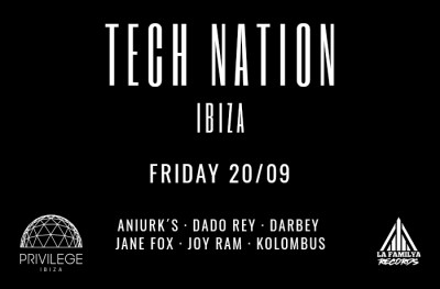 Tech Nation - Privilege Ibiza