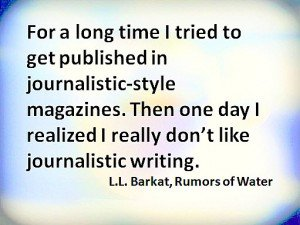 journalistic style