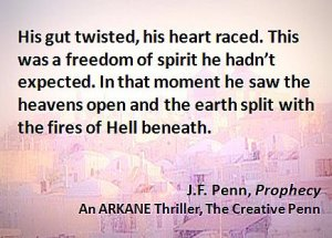 Porter Anderson, Writing on the Ether, Jane Friedman, author, publisher, agent, books, publishing, digital, ebooks, Joanna Penn, J.F. Penn, Prophecy, ARKANE Thriller, The Creative Penn, TheCreativePenn
