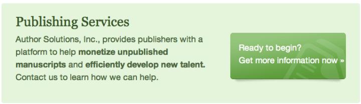 Author Solutions publishing partnerships