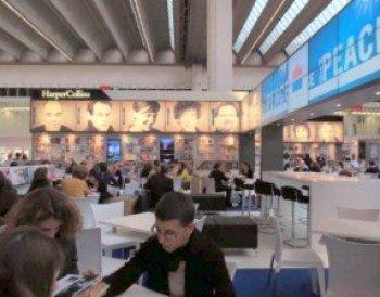 The HarperCollins pavilion at Frankfurt Book Fair 2013. Photo: Porter Anderson