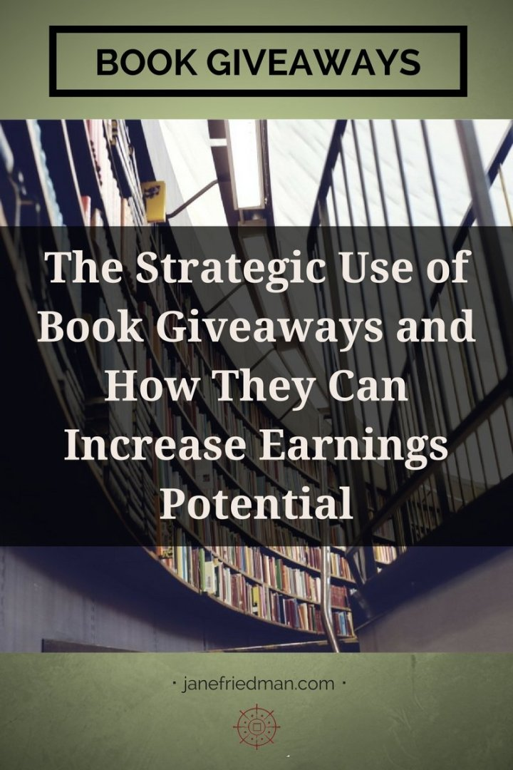 The strategic use of book giveaways jane friedman so do free books hurt authors or publishers for that matter solutioingenieria Gallery