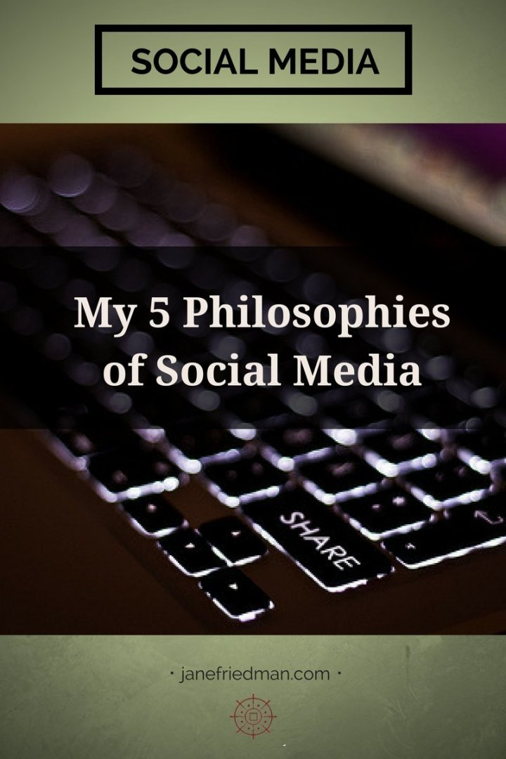 In 2015, I ran a 12-week course focused on social media; now that we're reaching the end, I've begun to reflect on my personal approach to social media and how much of it might be applicable to others. Here's what I came up with.
