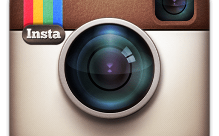 The Instagram color camera logo