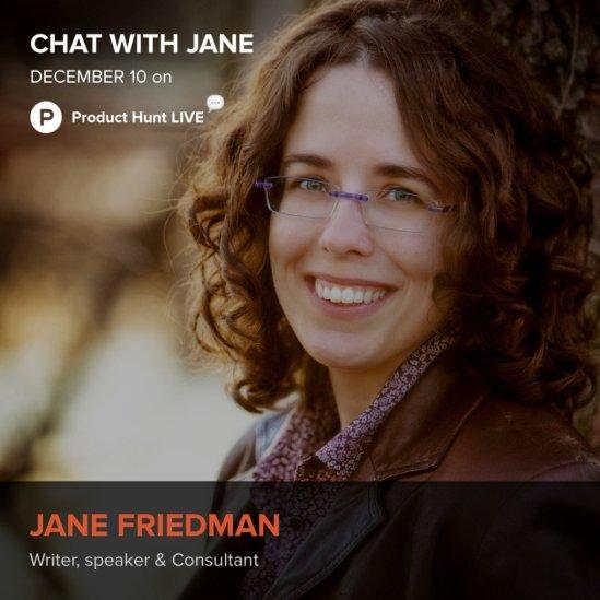 Jane Friedman Product Hunt