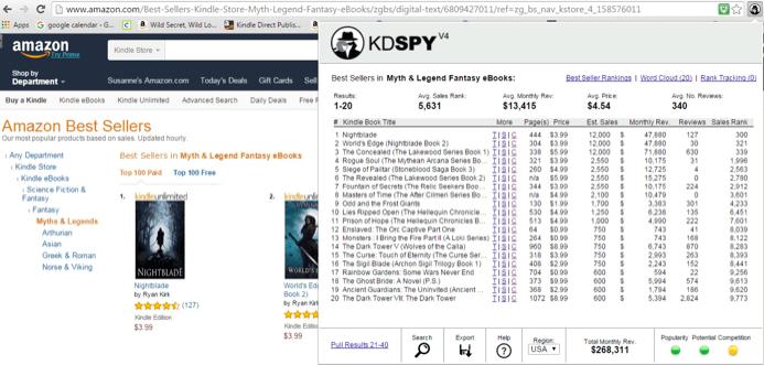 KDspy screenshot