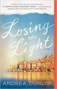 Cover for Losing the Light by Andrea Dunlop