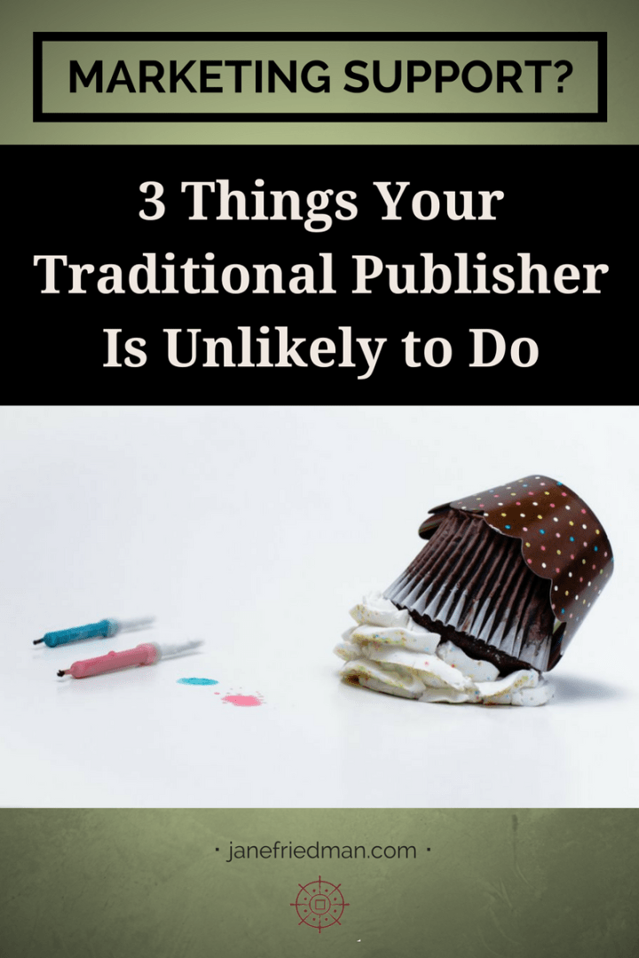 Authors still have very traditional ideas of what their publisher ought to do to demonstrate support for their book, even though where and how books get sold has changed dramatically in the last decade. Here are three things that you may want or expect your publisher to do—but are very unlikely to happen.