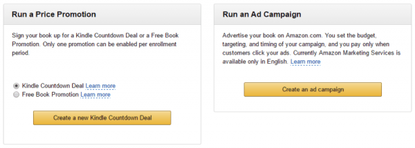 Using amazon kdp ads to sell your ebook on amazon jane friedman go to your bookshelf in kdp and then click on the promote and advertise button next to the book you want to advertise next click on the create an ad fandeluxe Image collections