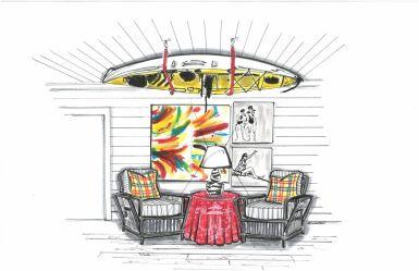 Hampton Showhouse - Scot Meacham Designs