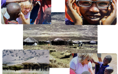 A Day in Masai Village: Patty-Cake and Two Women Tending Their Cattle