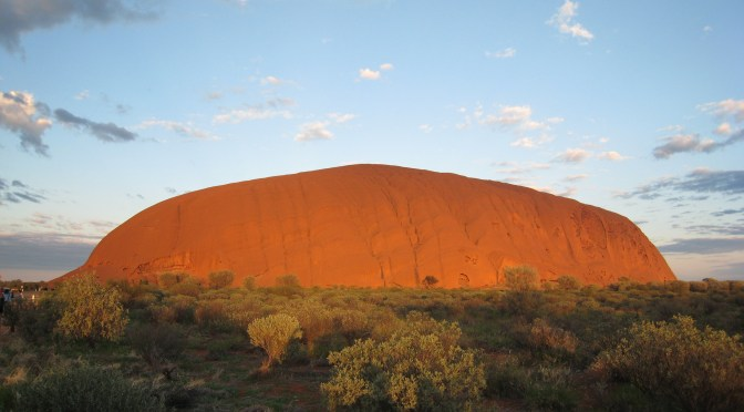 Sunrise am Uluru
