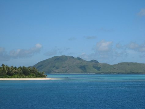 Überfahrt zur nächsten Insel