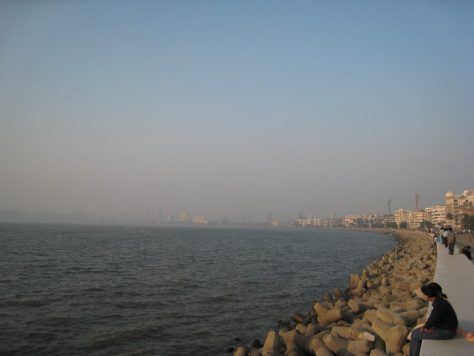 Stadtstrand in Mumbai - Chowpatty Beach