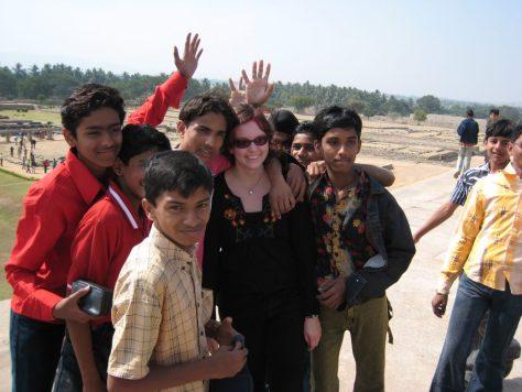 Umstürmt wie ein Promi - Indischer Wandertag