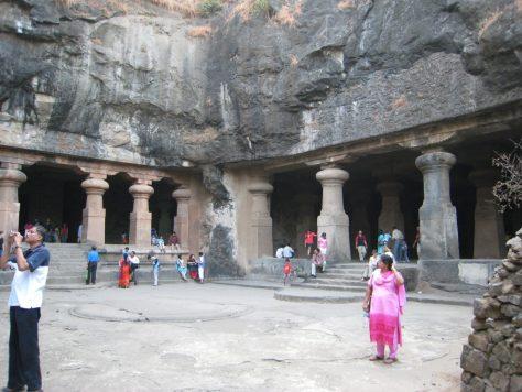 Elephanta Caves auf Elephanta Island