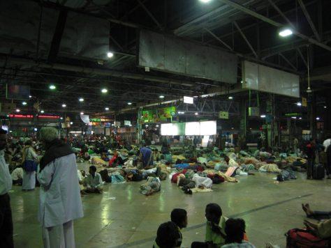 Bahnhof Mumbai