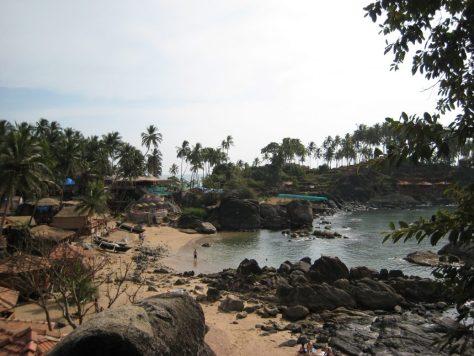 Bucht am Palolem Beach