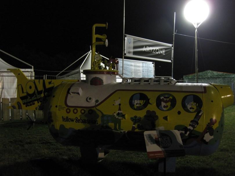 Sziget Artzone - Yellow Submarine