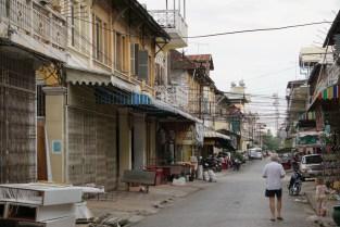 Straßenzug in Battambang