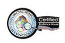 Badge indicating certification in neuroscience of personality