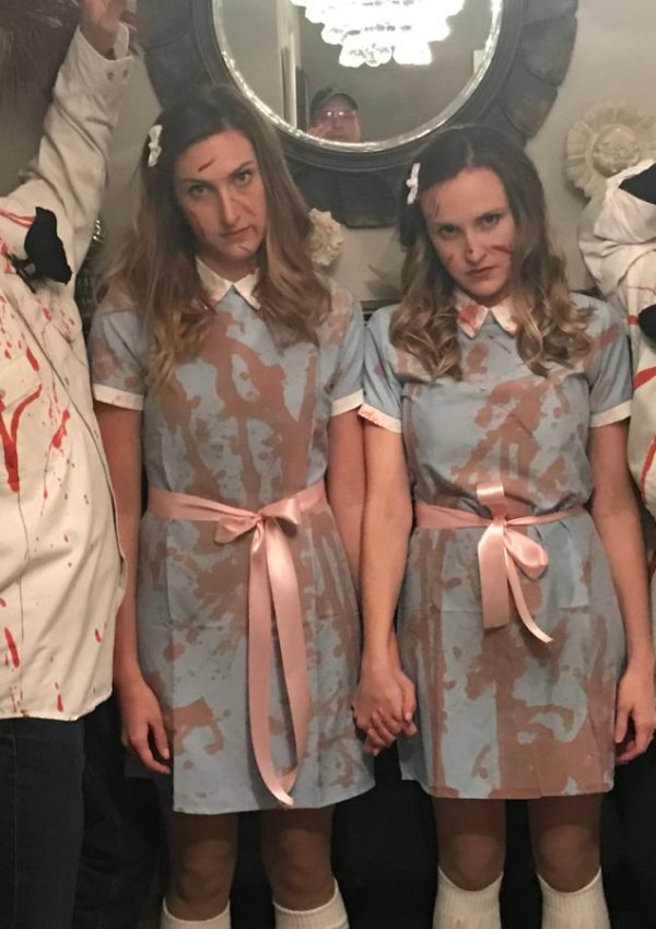 Halloween Costumes: The Shining Sisters & The Birds